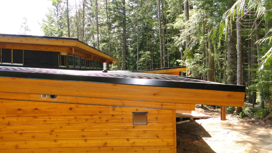 Gambier Island Bc Timber Frame Homes Post And Beam