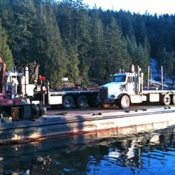Gambier Island BC Project- on route