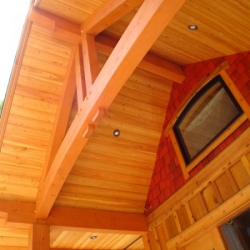 Tamlin Timber Frame Packages- Kootenay Lake BC Project