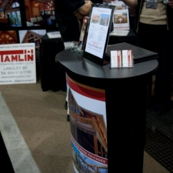 Tamlin Homes Timber Frame and Log Cabins- Trade Show Pictures
