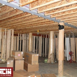 Tamlin Timber Frame Packages- Willows March Project - Interior, Under Contruction