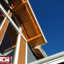 Tamlin Timber Frame Packages- Willows March Project - Exterior Detailing