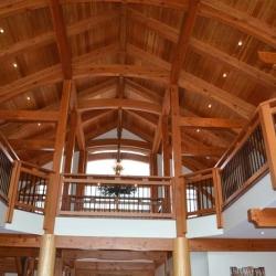 Saskatoon Custom Timber Frame Home- Tamlin Homes