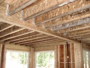 Floor System ⋆ Tamlin Homes Timber Frame Home Packages