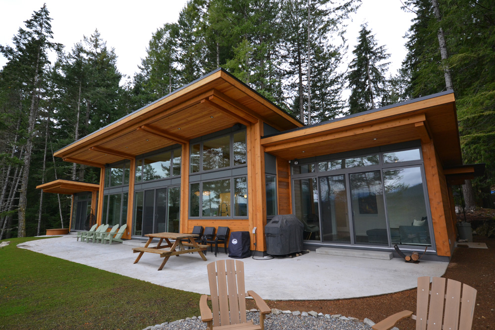 Is Georgie Award Winner For Best Custom Home BC Timber Frame Homes