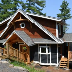 Clear Lake, Parry Sound Ontario- Tamlin Homes Cabin