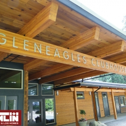 Tamlin Timber Frame- Glen Eagles Golf Course BC Project