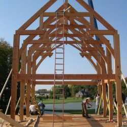 Tamlin Homes Timber Frame Packages- Lakeside Project