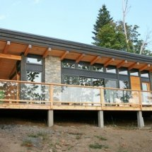 Contemporary Rancher 2 - Salt Spring Island BC