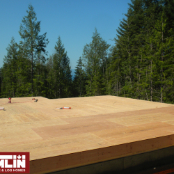 Tamlin Homes- Hybrid Timber Frame Package- Sechelt BC Project