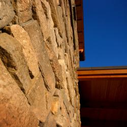 Tamlin Homes International Head Office- stone accents