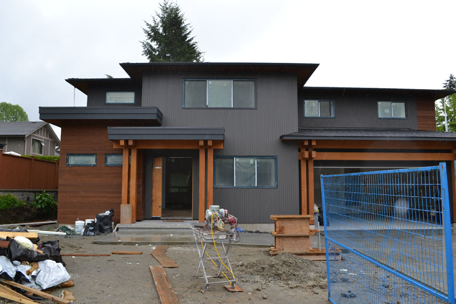 Burnaby Custom Timber Frame Project ⋆ Tamlin Homes