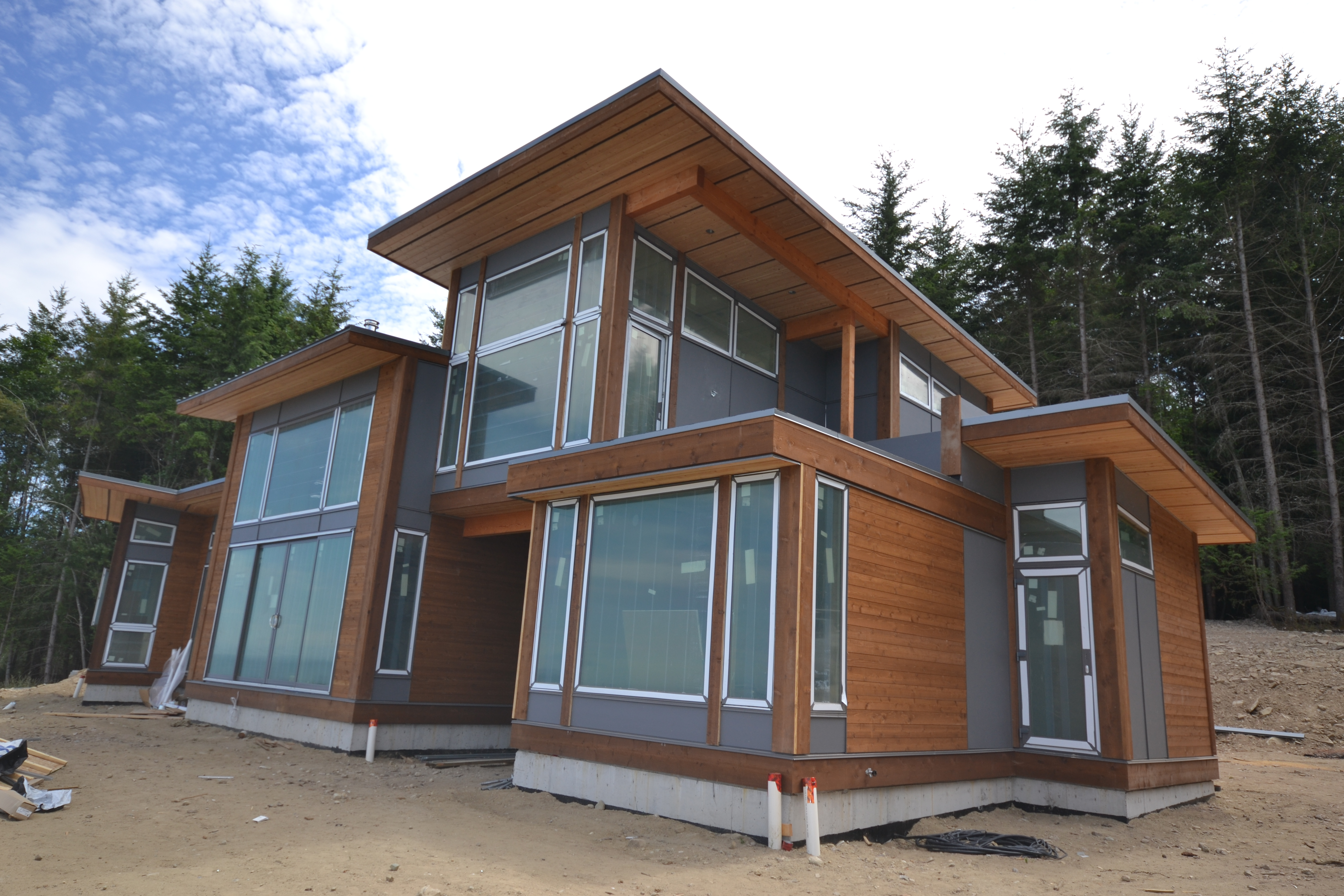 Galiano Island Beach Houses Are Well Underway